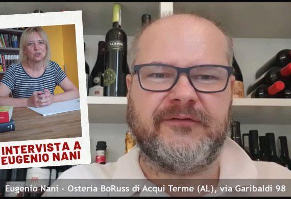 Intervista ad Eugenio Nani dell'Osteria Bo Russ di Acqui Terme