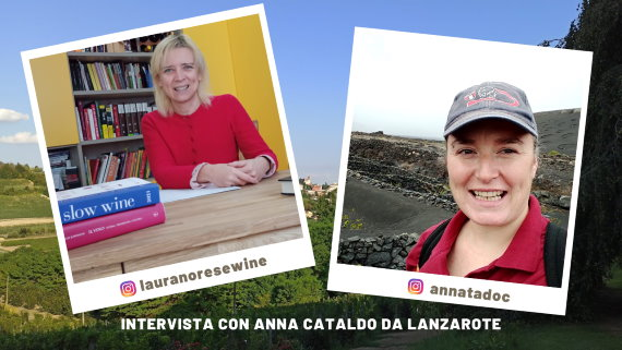 Intervista con LA WINEMAKER Anna Cataldo