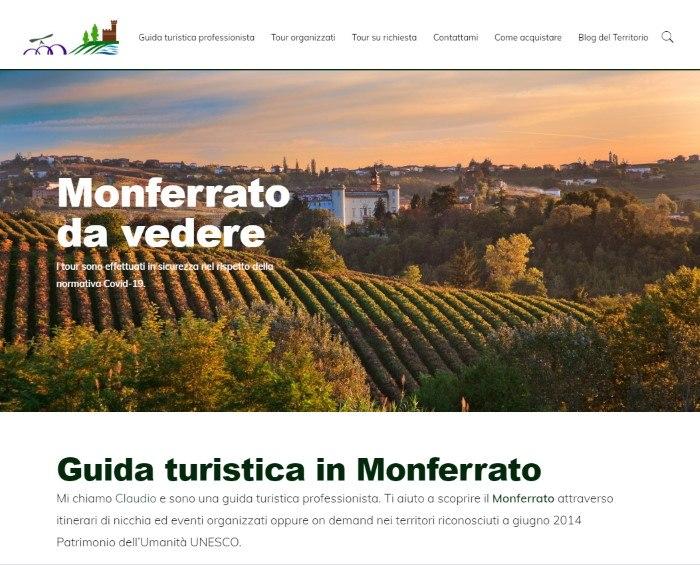 Sito web per turismo in Piemonte