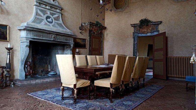 sala da pranzo a Palazzo tornielli