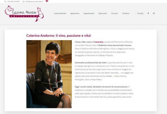 sommeier Caterina Andorno caterua