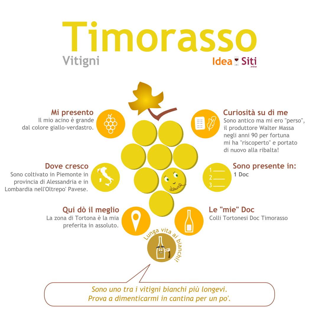 Vitigno del Piemonte timorasso